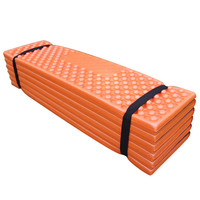 Outdoor Camping Mat Ultralight Foam Picnic Mat Folding Egg Slot Beach Mat Tent Sleeping Pad Moistureproof