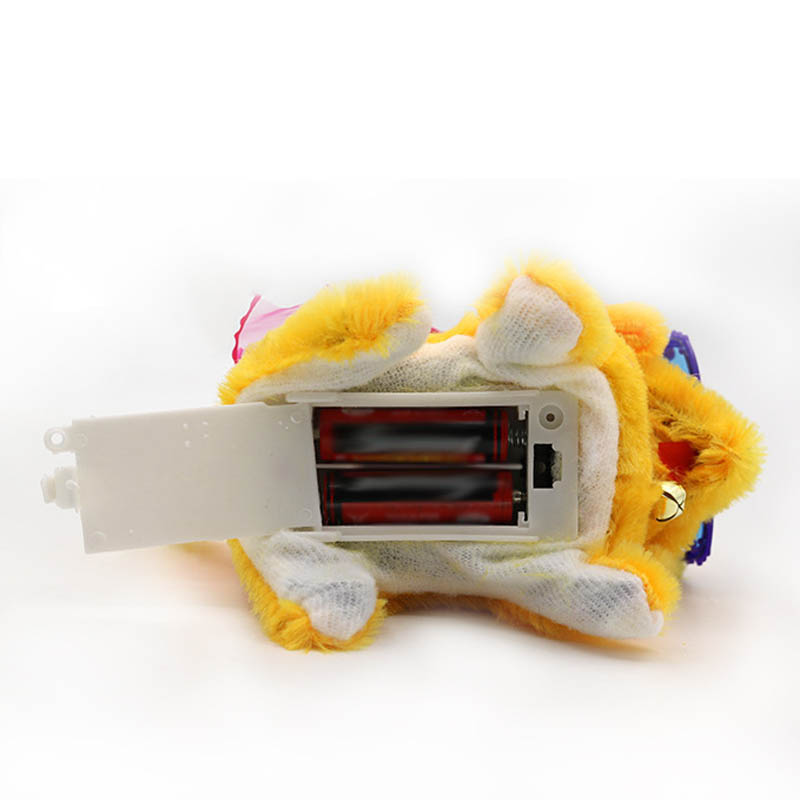 Children Electronic Dog Toy Sound Control Interactive Robot Bark Stand Walk Plush Doll Pets Dogs Toys Kids Gifts @ AN88