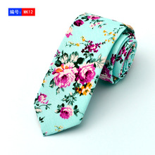 Fashion Floral Ties For Men Chinise Style Slim Neckties 6cm Width Printed Cotton Navy Blue Brand Corbatas Hombre Navy Blue Wihte цена