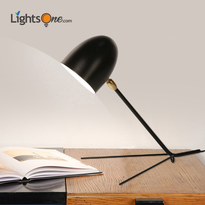 Duckbill teeth claws table lamp Nordic industrial wind creative bedside table light