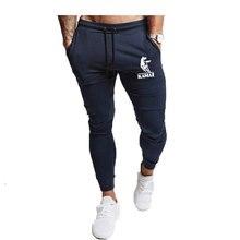 Новые мужские случайные спортивные брюки Jogger мужские брюки хип-хоп бегунов брюки мужские бегунов  Лучший!