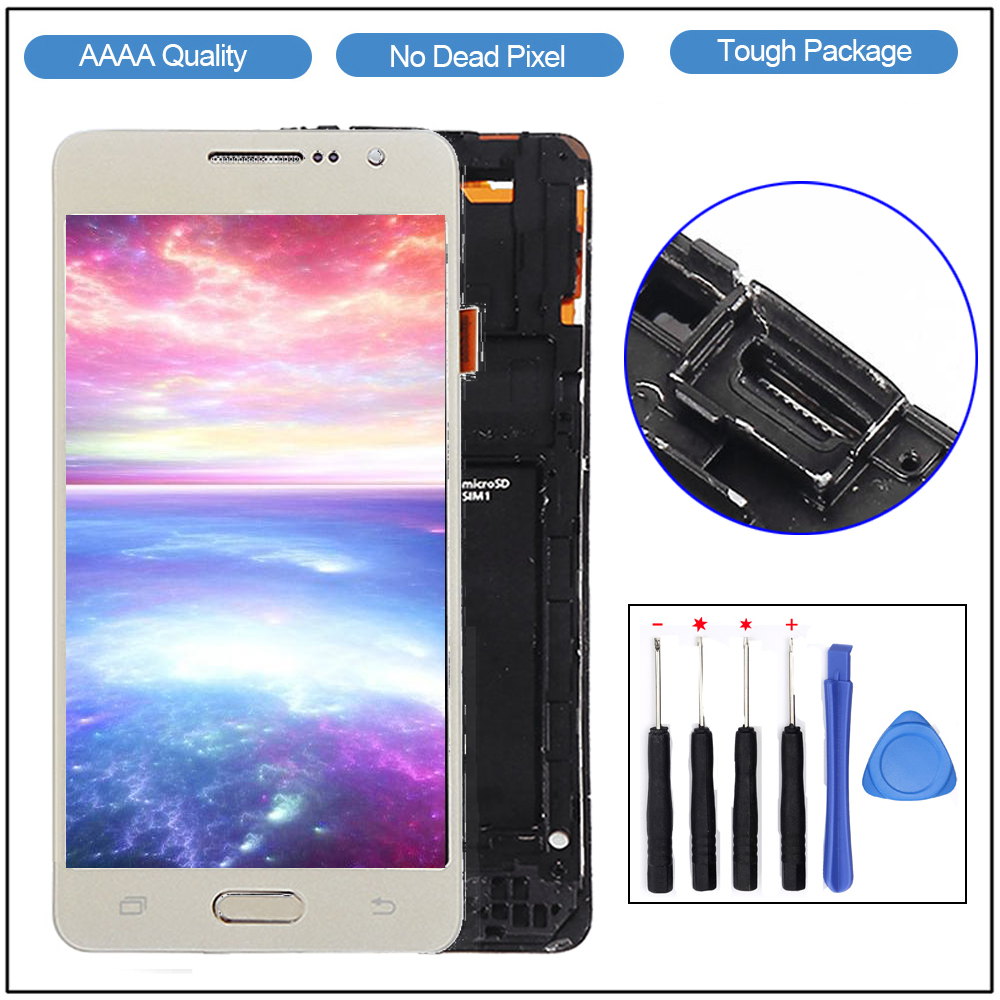 Samsung Screen Us 21 99 G530 Lcd For Samsung Grand Prime G530 G530fz Lcd Display Touch Screen Digitizer With Frame For Galaxy Grand Prime G530 Lcd In Mobile Phone