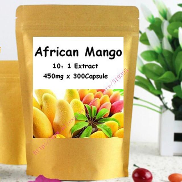 Extracto de Mango africano Cápsula 450 mg x 300 unids envío gratis