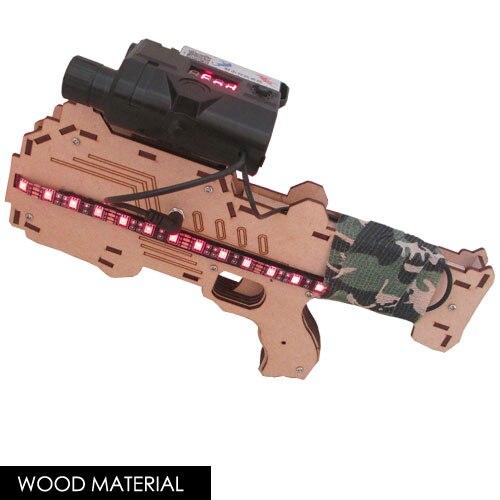 Étiquette Laser 600ft, pistolet jouet extérieur/intérieur, pistolet de combat professionnel, arme de Snipe d'assaut CS, Configurations de Tagger et de jeu modifiables