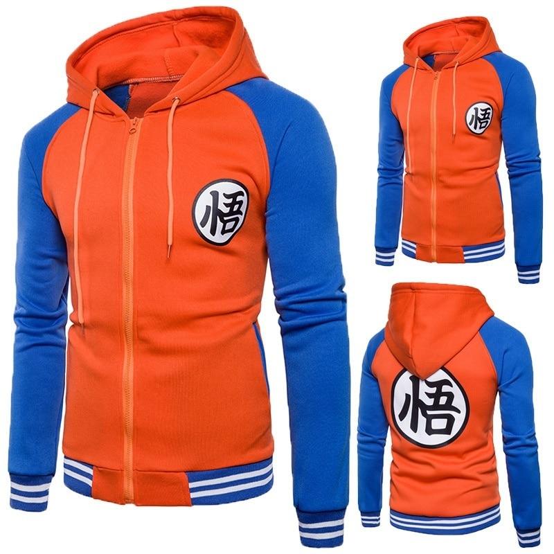 Men's Clothing Kind-Hearted Zogaa Hoodies Men 2018 Autumn Hoody Dragon Ball Coat Casual Male Jacket Moleton Masculino Fashion Boy Hoodies Sweatshirt Moderate Price