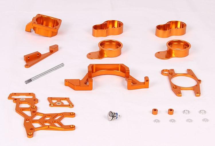 CNC 2 Cylinder kit Baja twin cylinder kit for 1/5 scale HPI baja 5B/5T/5SC 38mm cylinder barrel piston kit