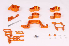 CNC 2 Cylinder kit Baja twin cylinder kit for 1/5 scale HPI baja 5B/5T/5SC