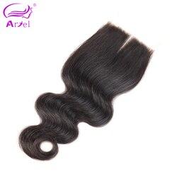 Ariel brazilian lace closure body wave 4 4 100 remy human hair closure middle part free.jpg 250x250