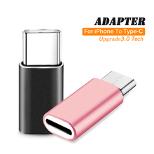 For Apple Adapter Female to USB-C Type-C Male Charger Cable Adapter for Samsung S8 Huawei P9 P10 For Apple Connector Phone Cable все цены
