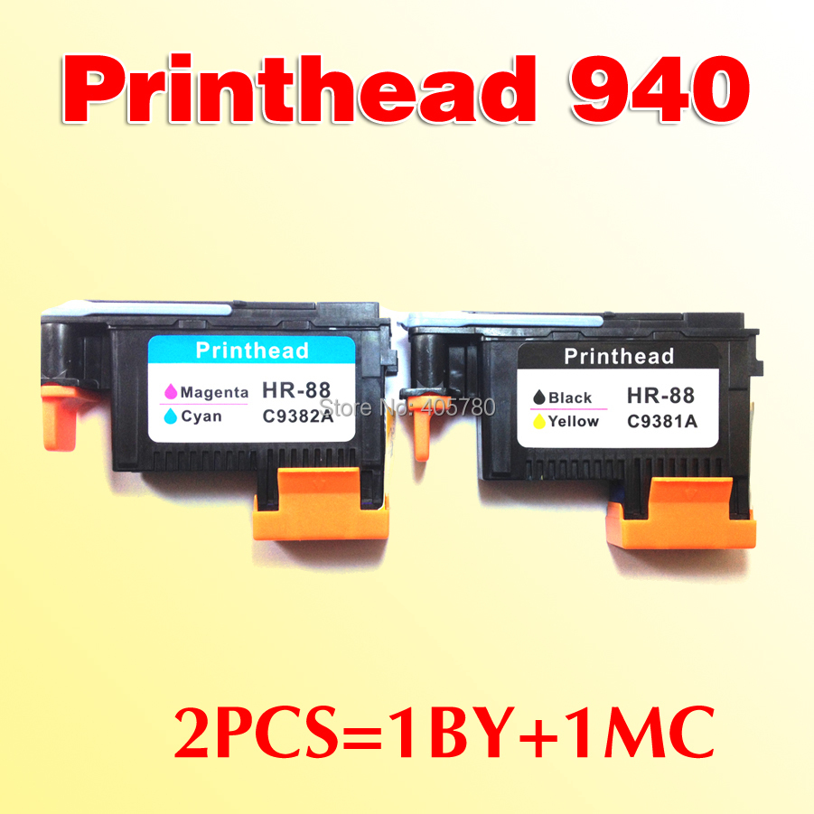 2x compatible for printhead for hp 940 C4901A C4902A OfficeJet Pro 8000  8500w