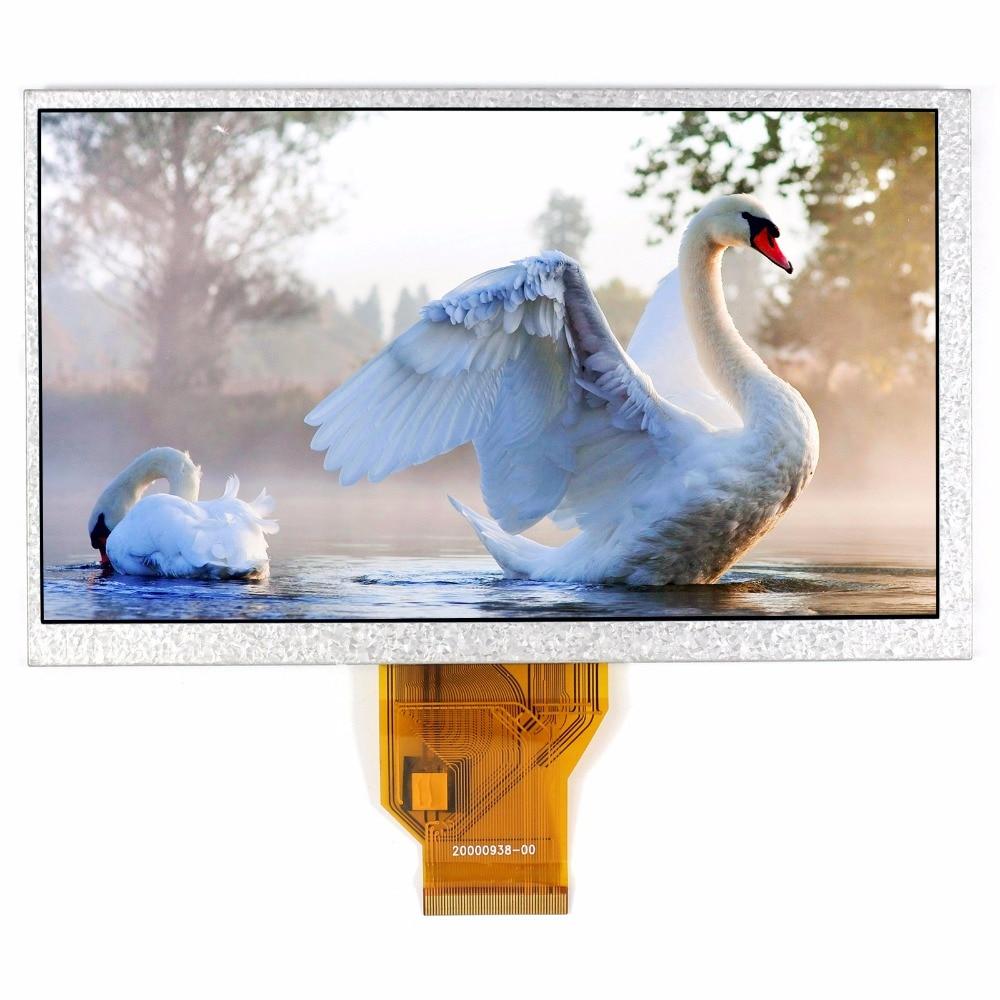 7 TFT LCD Display LCM AT070TN90 800x480 Thickness 3mm as AT070TN92 AT070TN93