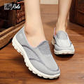 Summer bright color flats shoes woman zapatos mujer zapatillas deportivas mujer soft-soled work walking shoes