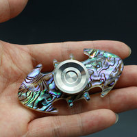 New Creative Hand Spinner Injection Molded Bat Style Shaped Figit Fidget Spinner Anti Stress EDC ADHD