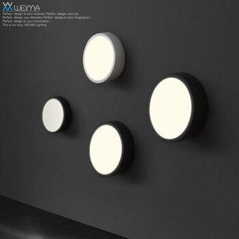 Persönlichkeit LED Wohnzimmer Schlafzimmer Modernen Minimalistischen Kunst Lampe Wandleuchte Beleuchtung Balkon Ganglichter Runden