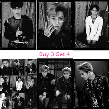 EXO Korean band Posters Wall Stickers Decoration Good Quality Prints White Coated Paper E1(China)