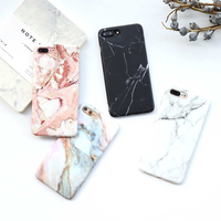 IGEEKER For Iphone 6 6s 8 6 7 8 Plus Granite Scrub Marble Stone Image Painted