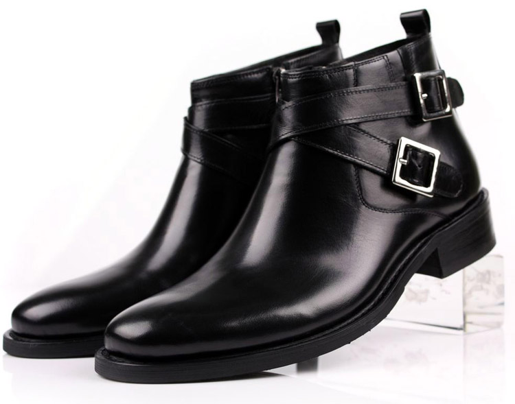 Business Boots Male Dress Shoes