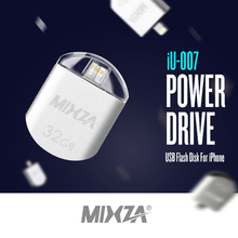 Brand New MIXZA High Speed 32GB 16GB USB Disk Dual Plug OTG USB Flash Drive Pen Drive 32GB U Disk for MacBook PC iPhone iPad