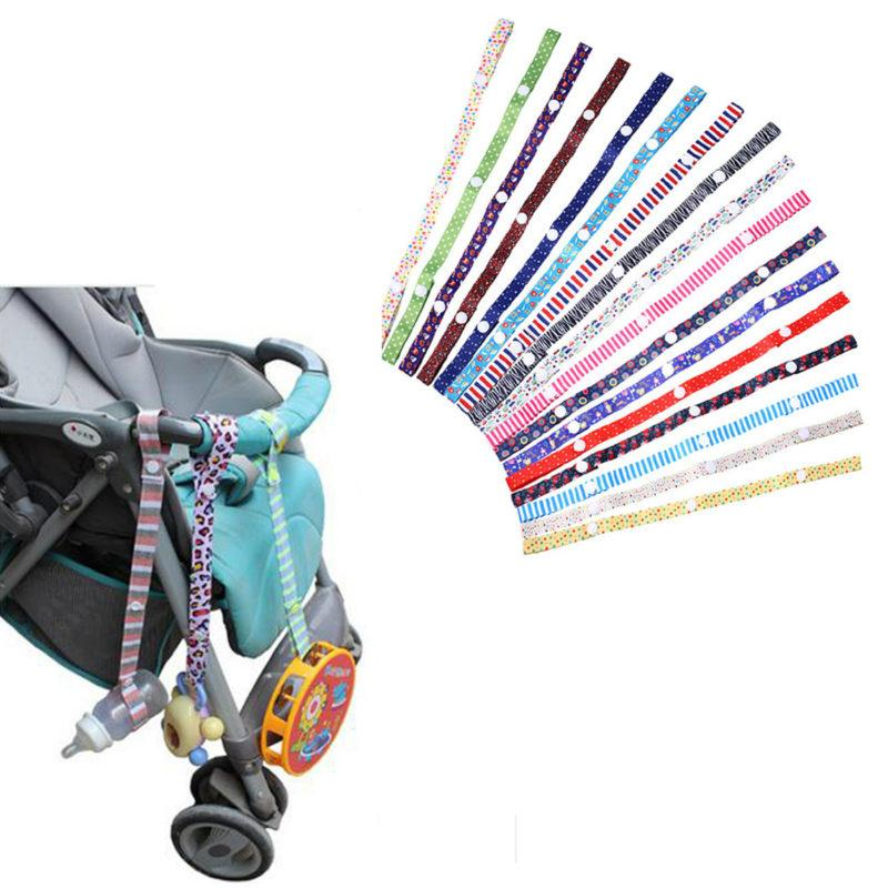 New Baby Infant Toddler Stroller Strap Pacifier Holder Toy Strap Anti Lost Belt