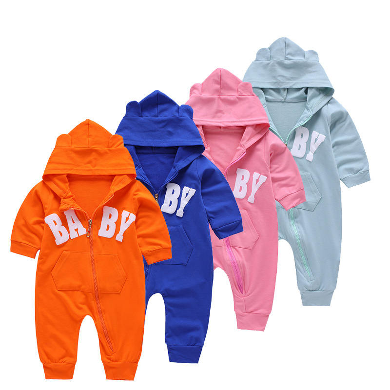 2017 Baby Rompers Spring Baby Boy Clothes Long Sleeve Baby Girl Clothing Set Newborn Baby Clothes Roupas Bebe Infant Jumpsuits