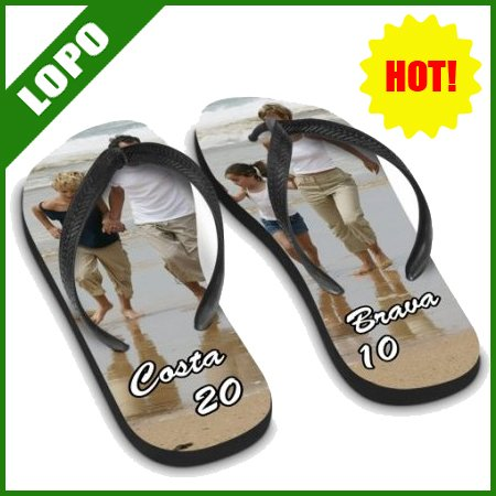 48634cc2d Sublimation Flip Flop AdultXL L M S black color(DIY Flip Flop ...