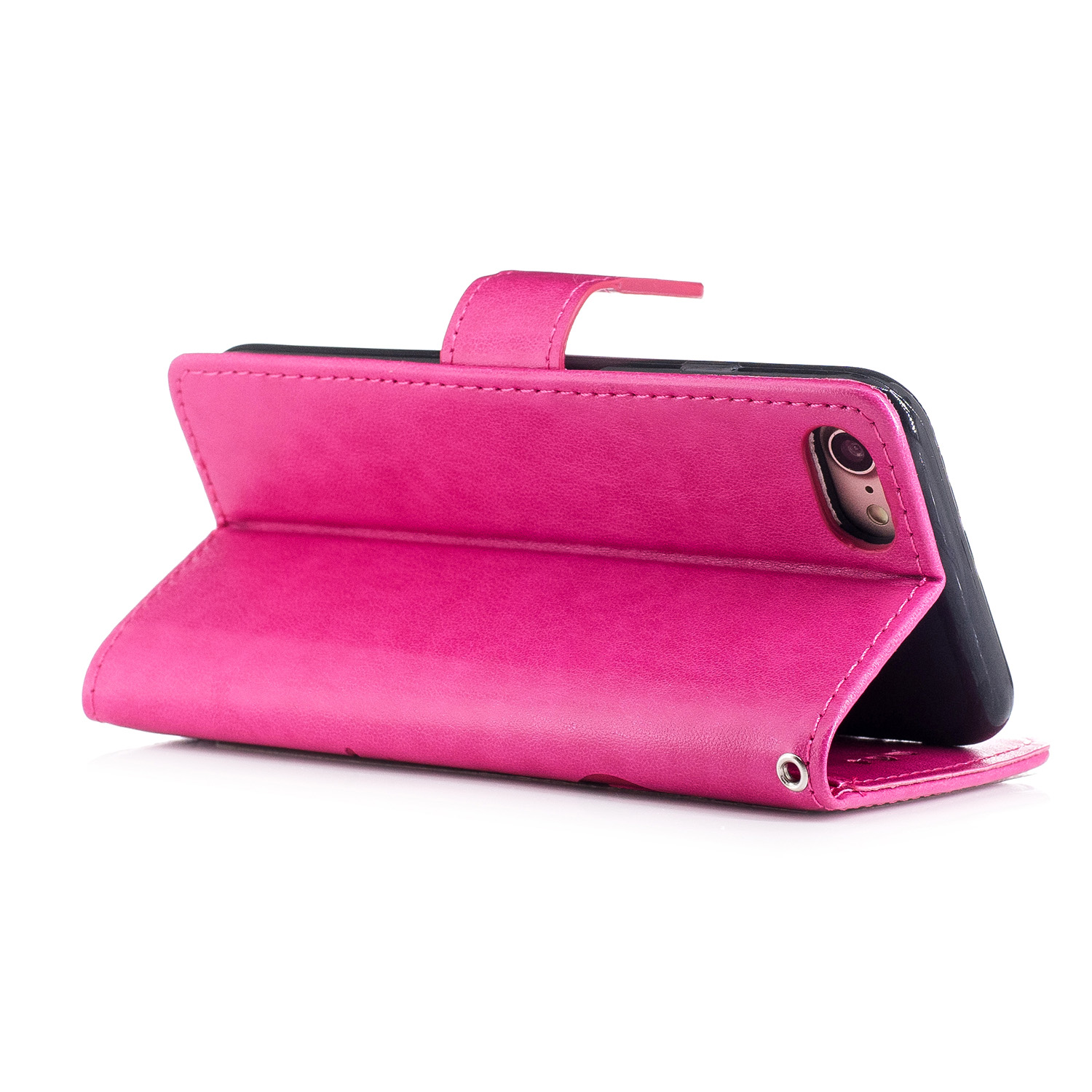 Embossed Leather Sleeve for Apple iPhone 7 iPhone7 for Apple iPhone 7 Phone7 Phone Cover A1780 A1778 A1779 A1660 4.7 inch Case