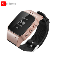 Elderly Smart watch D99 Safety Anti-lost LBS Wifi LocatorWrist Smartwatch Elder Wearable Device SOS Clarm For Android IOS Phone