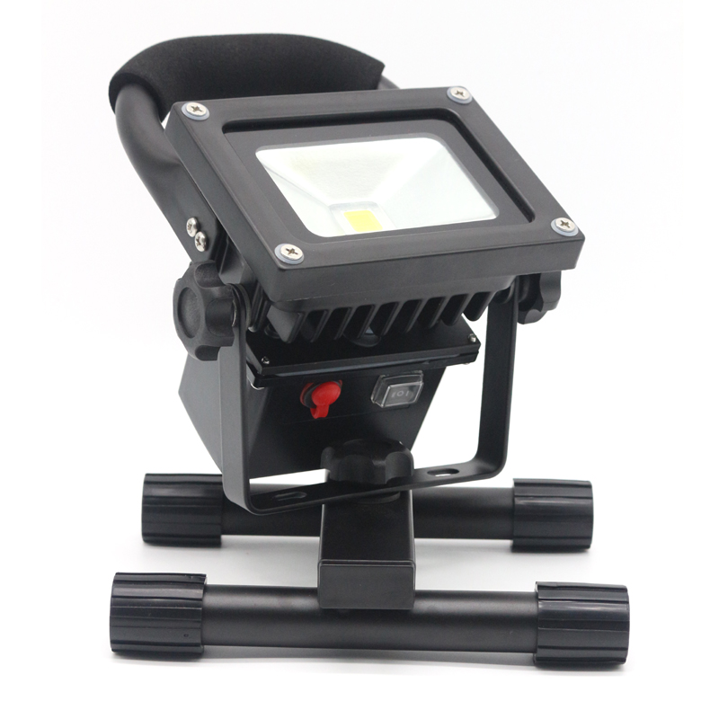 Купить с кэшбэком 10W LED Portable Floodlight  rechargeable light