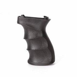 ของเล่นอุปกรณ์เสริมฝาครอบ Anti Slip สำหรับ AK ยุทธวิธีจับพลาสติกสีดำชุดป้องกัน