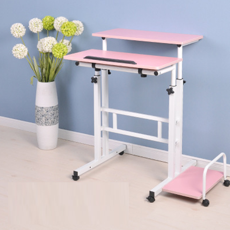 simple and stylish home lazy laptop table mobile lifting standing office desktop computer deskchina aliexpresscom buy foldable office table desk