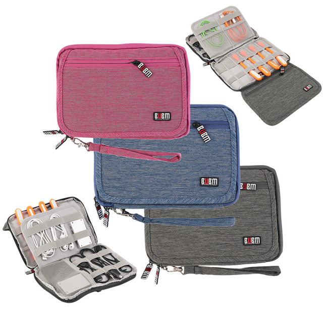 Multifunction Earphone Phone USB Travel Sports Case Digital Storage Bag for outdoor Travel free shipping
