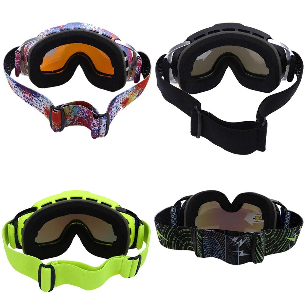 Unisex Doble Lente Gafas de esquí gafas de esquí y snowboard Gafas de Doble Lent