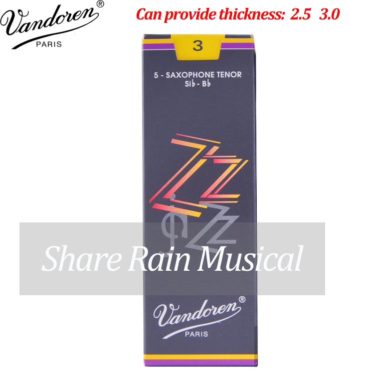 France vandoren jazz Bb tenor sax reed 2.5/3.0 /tenor saxphone suit Jazz style use vandoren vandoren sr2225