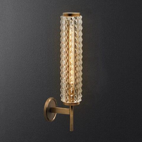 pos moderna lampada parede cobre luxo