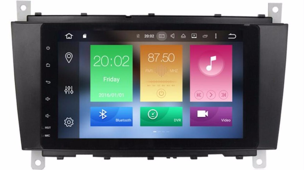 9 Inch <font><b>Android</b></font> 8.0 Car Navigation DVD <font><b>GPS</b></font> Player Auto Stereo For <font><b>Mercedes</b></font> Benz <font><b>W203</b></font> W209 Octa Core 4G RAM+32G ROM Radio DAB+Wifi image