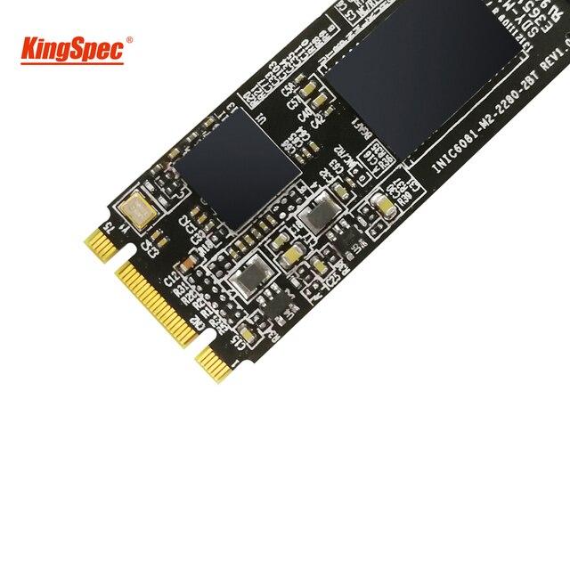 Kingspec M.2 NGFF 2280 SATA III SSD 64gb 120gb 240gb m2 ssd 500gb 1tb 2tb Solid State Drive Hard Disk Module for ThinkPad