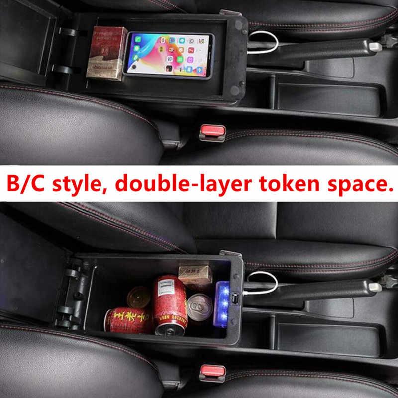 Pour Opel Astra boîte d'accoudoir Opel Astra J universel voiture accoudoir Central boîte de rangement modification accessoires