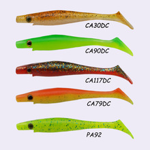 ESFISHING Hot Lures 2018 New Hog shad 10cm 6g 6pcs Jerkbait Fishing Lures Sea Big Bait Soft Lures Pesca Trout Pike Perch Bass