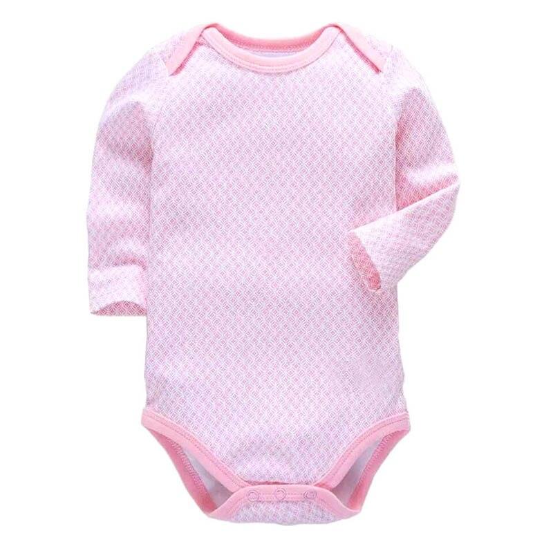1PCS/LOT Newborn Baby Clothing 2018 New Fashion Baby Boys Girls Clothes 100% Cotton Baby Bodysuit Long Sleeve Infant Jumpsuit