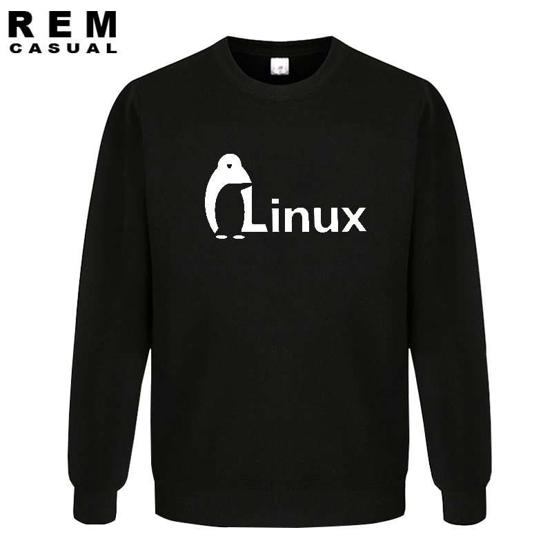 The Dark Knight LINUX penguin Logo Men new Fashion wordart of LINUX Hoodies, Sweatshirts