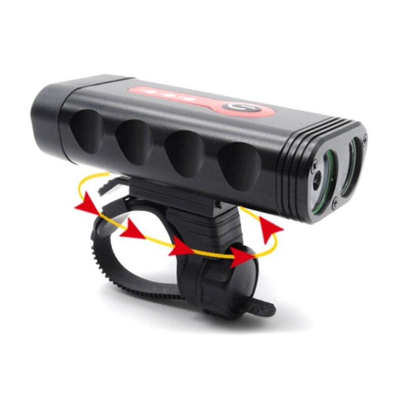 2018 USB Bicycle Lights Handlebar Cycling LED Light 400mAh Lithium battery Flashlight Front Lamp bike light