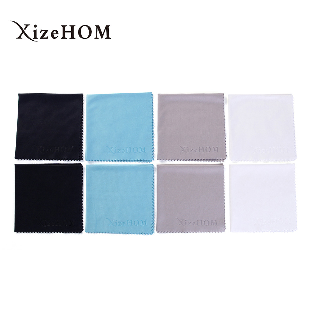 20*20cm/8 pcs lots Professional Microfiber Cloth for Lens Cleaning Eyeglass Lenses Sunglasses Camera Lenses Laptop Lens Clothes