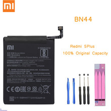 Original Phone Battery for Redmi 5 Plus Battery Xiaomi hongmi 5Plus BN44 Replacement Batteries Retail Package Red rice bateria(China)