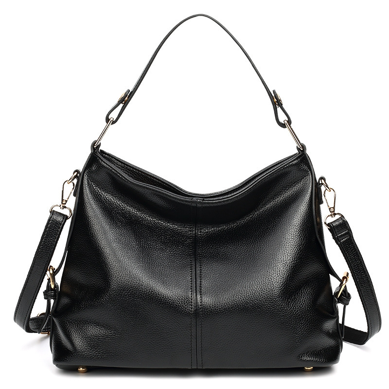 Female genuine leather handbags large capacity women real leather bags first layer leather shoulder bagsFemale genuine leather handbags large capacity women real leather bags first layer leather shoulder bags