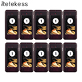 10 pcs Call Coaster Pager Ontvanger voor Draadloze Restaurant Paging Queuing Systeem Oproepsysteem T112 T111 433 MHz