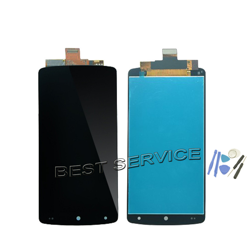 imágenes para Para LG Nexus 5 D820 D821 Pantalla LCD Con Pantalla Táctil Completa Asamblea Del Digitizador + Herramientas