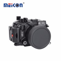 DF Meikon 40M/130F Waterproof Camera Housing Case for Canon G7XII,Underwater Bags Cases for Canon G7XII Camera