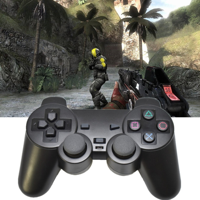 2 4g wireless game controller for ps3 console gamepad joystick
