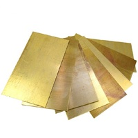 Brass Sheet Plate 1mm Thick All Sizes In Stock DIY Hardware Free Shipping