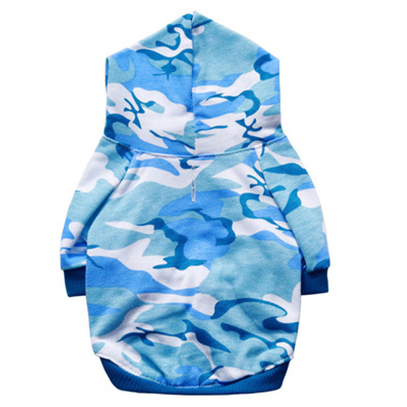 Navy blue Camouflage Cat Costumes suit clothes Army Green pink hoodie Pet Puppey Product For Dog Cat Spring Autumn Winter